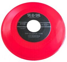 """The Markels The Letter Of Love 7"""" Red Vinyl Doo Wop 45 R&M"""