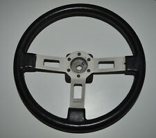 Original Vintage Abarth Fiat Ritmo 105 125 130 TC Leather Steering Wheel