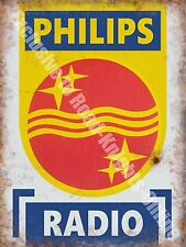 Philips Radio,146 Elektronik Retro Klassisches Werbe,Mittleres Metall/