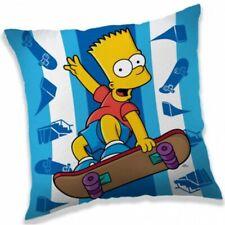 Dekokissen Die Simpsons - Bart Simpson auf dem Skateboard mit Füllung