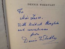 Dennis Wheatley - SIGNED - Launching of Roger Brook - 1st/1st 1947 Hutchinson