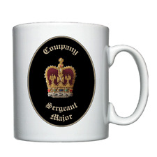 Company Sergeant Major, Warrant Officer class 2, SSM, BSM - Personalised Mug