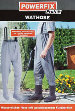 Pantalones Wat Tamaño Pantalón de Pescador con Botas Altas Manguera Del Estanque