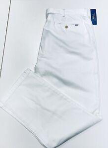 Ralph Lauren Men's Chinos Classic Fit White Size 38W-32L