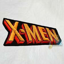 X-men Word Logo Embroidered Patch Marvel Comics Magneto Wolverine Xavier Storm