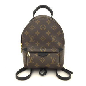 New 2019 LOUIS VUITTON Monogram Palm Springs Mini Backpack /60859