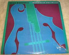 Rare EVAN MARSHALL Mandolin Unlimited VINYL LP promo EXCELLENT record album 1987