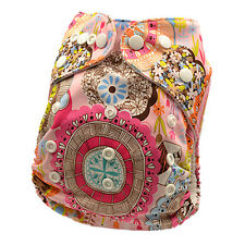 New Washable Modern Cloth Nappies Pocket Diapers Wholesale liner insert (D30)