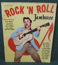 Elvis Presley Jamboree Rock N Roll Magazine 1956 RARE Exc +