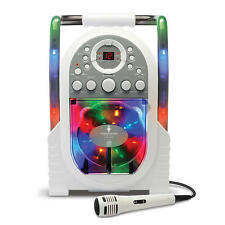 Singing Machine Portable Karaoke With Built-in Light Show Model
