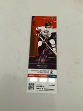 unused hockey tickets Montreal Canadiens Serge Savard