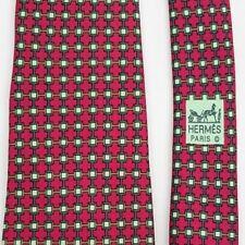 Original HERMÈS PARIS 100% Silk vintage Krawatte Tie Corbata Cravate 7030 TA