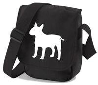 English Bull Terrier Reporter Bag Dog Walkers Shoulder Bags Birthday Xmas Gift