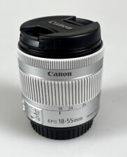 Canon EF-S 18-55mm F4-5.6 IS STM Camera Lens Silver