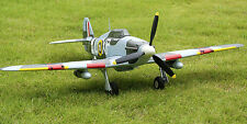 Ready To Fly! TOP Hurricane MKII Remote Control RC Plane Airplane Model Version