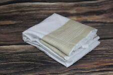 Frette Hotel KING Pillow Sham 300 TC Cotton Embroidered Porto Sandstone $160