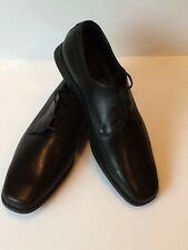 Samsonite Men's Dress Leather Shoes Laces, Size 10 ,Color Black, Made In Italy
