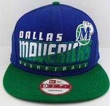 Dallas Mavericks New Era 9FIFTY snap-back/hat/cap/NBA/Throwback