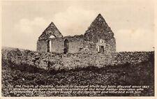THE OLD CHURCH OF CLONCHA CULDAFF CO. DONEGAL IRELAND S R BUTLER IRISH POSTCARD