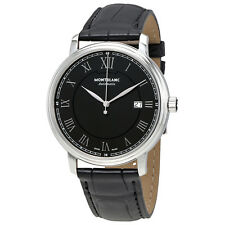 Montblanc Tradition Black Dial Automatic Mens Watch 116482