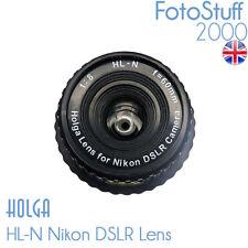 HOLGA HL-N Nikon DSLR Holga Lens F8.0 60mm Black Brand New UK Stock HL N