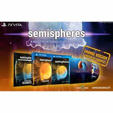 Semisphere ORANGE cover - (1000 copies ww) - PSVITA - NEW