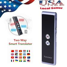 Real Time Smart Voice Translator Two-Way Multi-Language Translation Travel Size