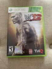 WWE  W12 (Microsoft Xbox 360, 2011) FREE SHIPPING