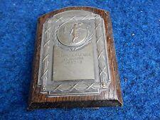 Wharfedale FOOTBALL LEAGUE TROPHY miniatura CHAMPIONS 1957 -58