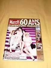 PARIS MATCH N°3123 avril 2009 Monica Bellucci Charlotte Gainsbourg