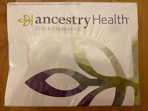 Ancestry Health DNA Activation Kit NEW DAMAGED BOX