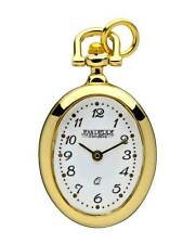 "Jean Pierre Quartz Pendant Watch, Gold Plated Case, 26"" Chain, L602PQ"