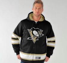 "Pittsburgh Penguins NHL G-III ""1 on 1"" Jersey Hooded Premium Sweatshirt"
