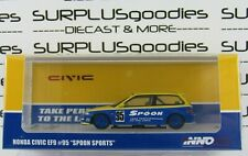 INNO64 1:64 2020 Release HONDA CIVIC EF9 #95 Tuned by Spoon Sports #IN64-EF9-SP