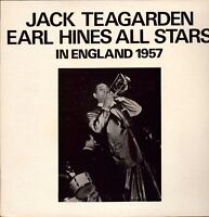 Jack Teagarden / Earl Hines All Stars ‎– In England 1957 Vinyl LP ‎ HL2.571