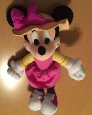 Mattel Bendable Pink Minnie Mouse Plush