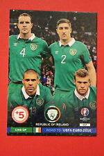 ADRENALYN ROAD TO EURO 2016 IRELAND LINE-UP 117  MINT!!!!