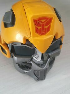 TRANSFORMERS BUMBLE BEE TALKING VOICE Changing Mask (read listing)