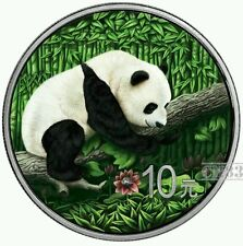 2016 Chinese Panda Silver OUNCE OF SPACE Nantan Meteorite Coin.