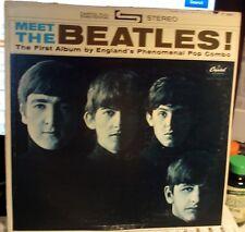 MEET THE BEATLES STEREO 3 BMI  #6 HOLLYWOOD  FEB 1964 GENUINE VG+ LENNON WOODY
