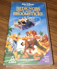"VHS Walt Disney Classics ""BEDKNOBS AND BROOMSTICKS"" General Exhibition"