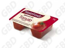 1x MASTERFOODS TOMATO SAUCE SQUEEZY PORTIONS 100X14G