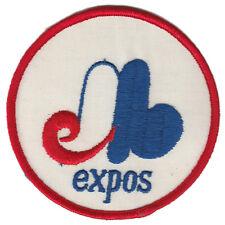 "1969 MONTREAL EXPOS MLB BASEBALL 4"" ROUND TEAM LOGO PATCH"