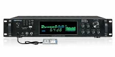 2500W DJ PROFESSIONAL DIGITAL HYBRID PREAMP POWER AMP AMPLIFIER USB SD FM RADIO
