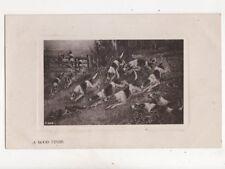 Hunting Vintage Postcard Rotary 279b