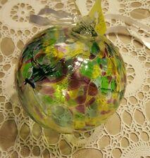 "NEW ◇  KITRAS ART GLASS ◇ MAY ◇ 15.5"" AROUND ◇ BIRTHDAY BALL ◇ BEAUTIFUL PIECE"