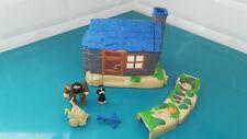 19914.2 Maison d'Hagrid style Polly pocket complet Harry potter Mattel Hut house