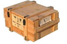 Truhe Kiste Holzkiste Holzkasten Militär Aufbewahrungsbox Tisch Holztisch Holz
