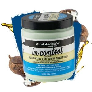 AUNT JACKIE'S IN CONTROL ANTI-PROOF MOISTURIZING AND SOFTENING CONDITIONER 426 g