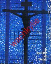 Le spectacle du monde n°129 du 12/1972  Prisons françaises Église Verlaine Ads
